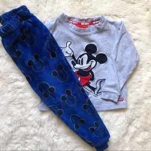 Disney Mickey Mouse Toddler Pajamas Size XXS